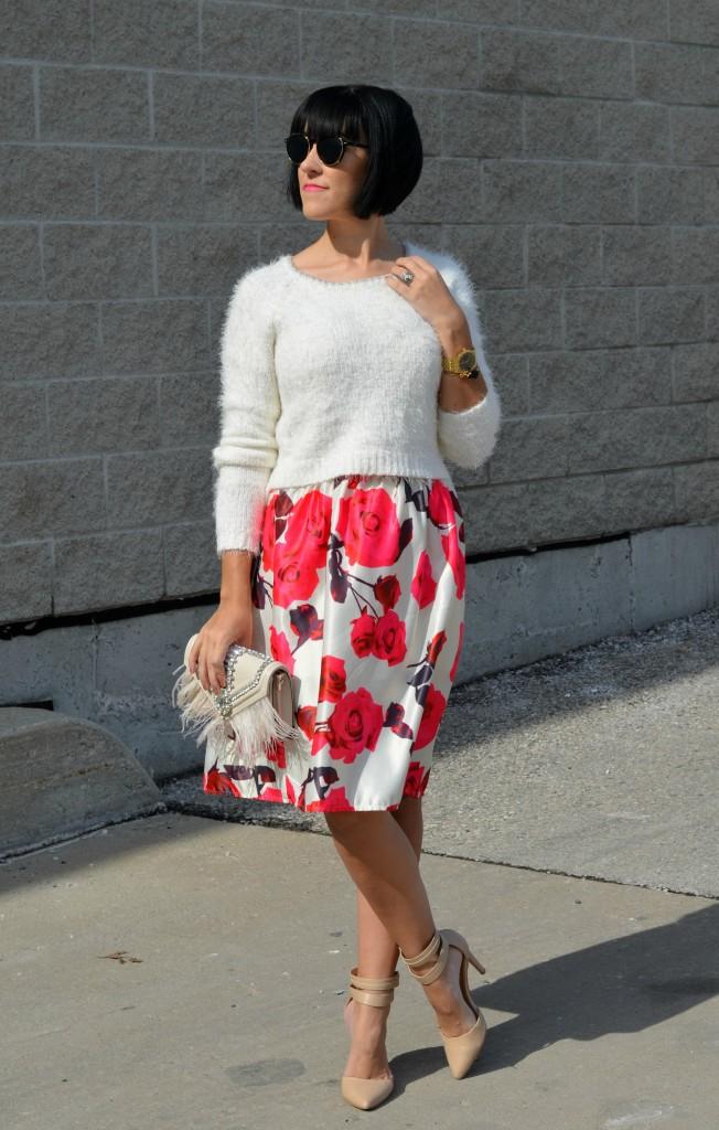 Floral Skirt (3)