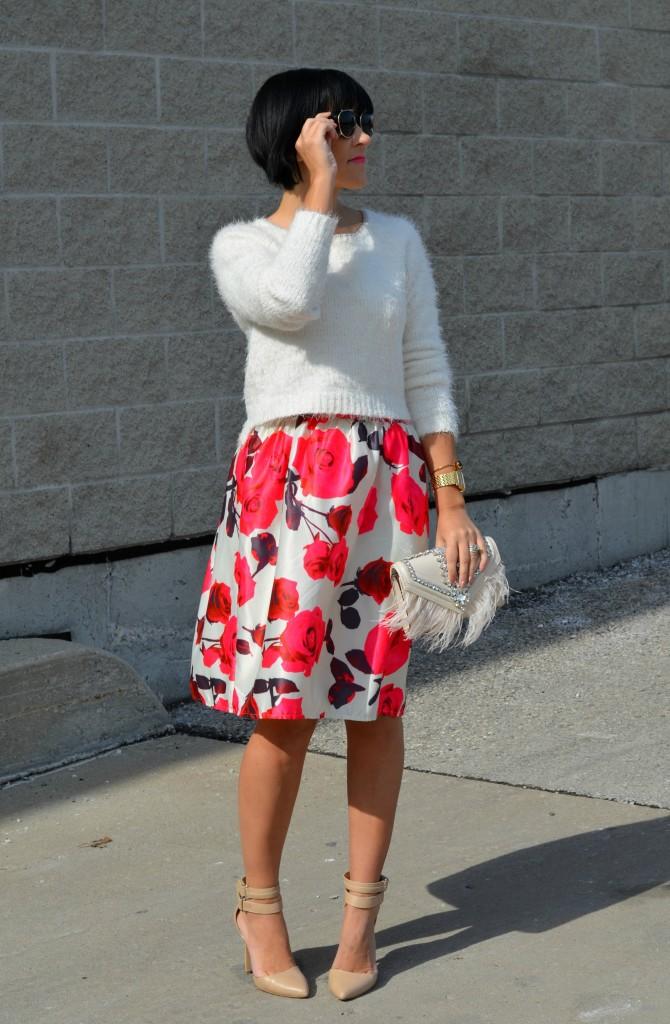 Floral Skirt (4)