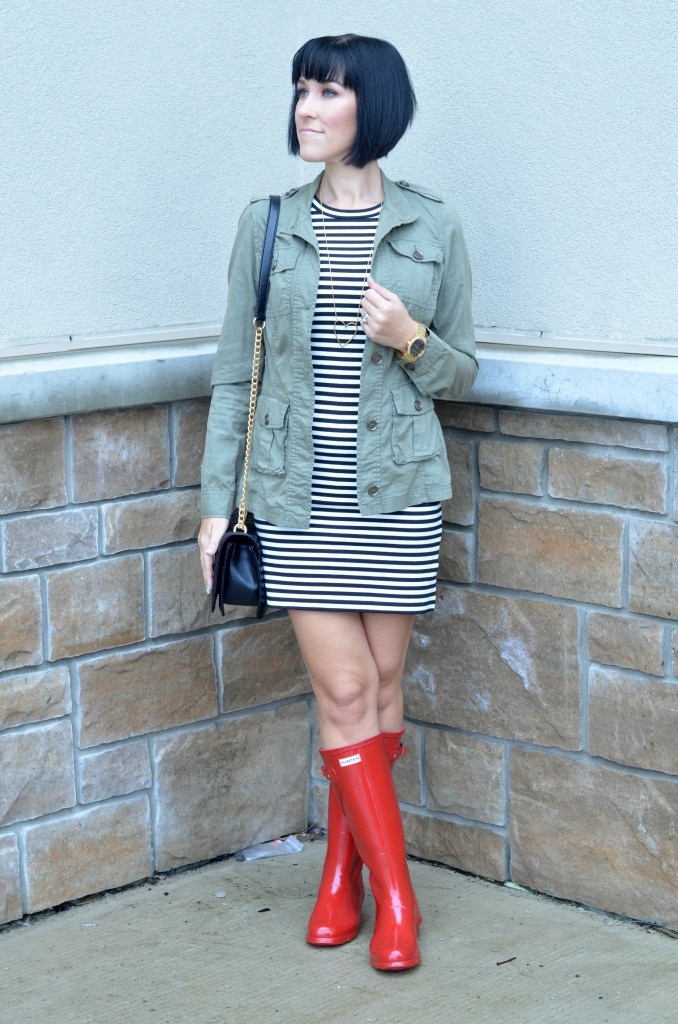Red Hunter Boots (2)