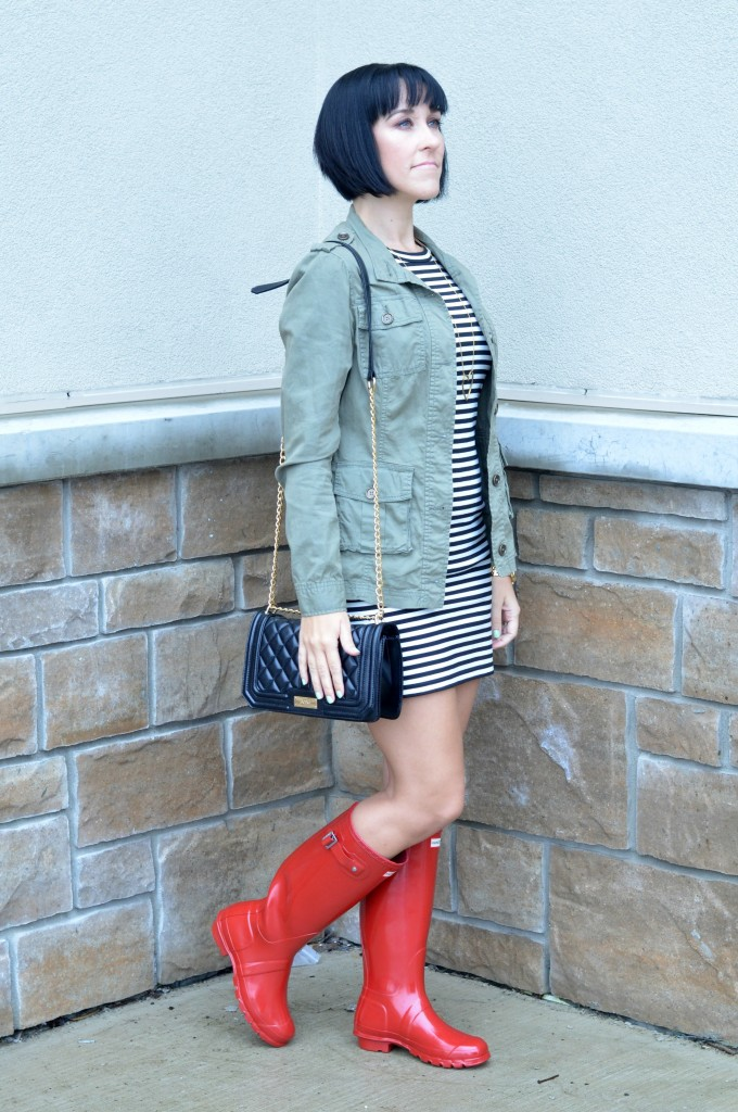 Red Hunter Boots (3)