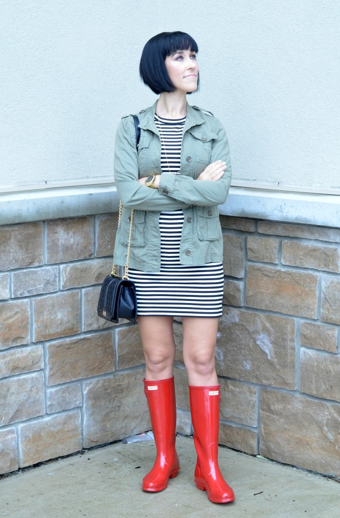 Red Hunter Boots (4)