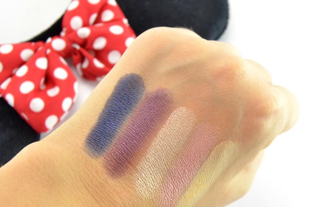 Sephora Minnie's World in Color Eyeshadow Palette swatch