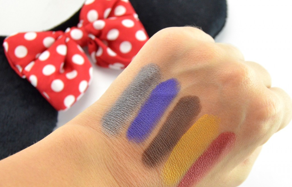 Sephora Minnie's World in Color Eyeshadow Palette swatch
