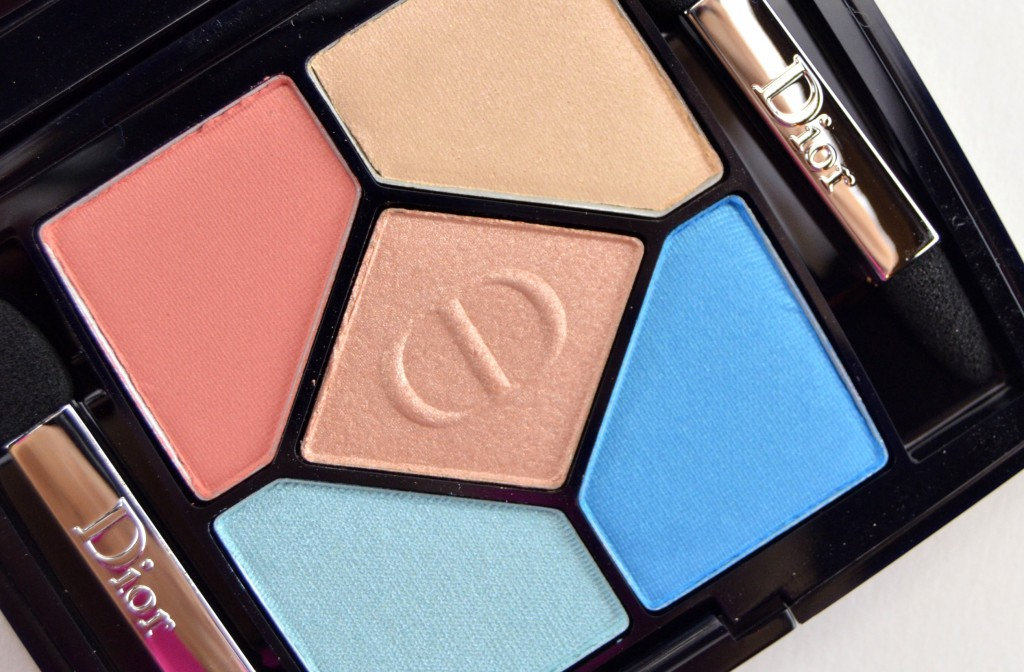 Dior 5 Couleurs Polka Dots Eyeshadow Palette in 366 Bain de Mer