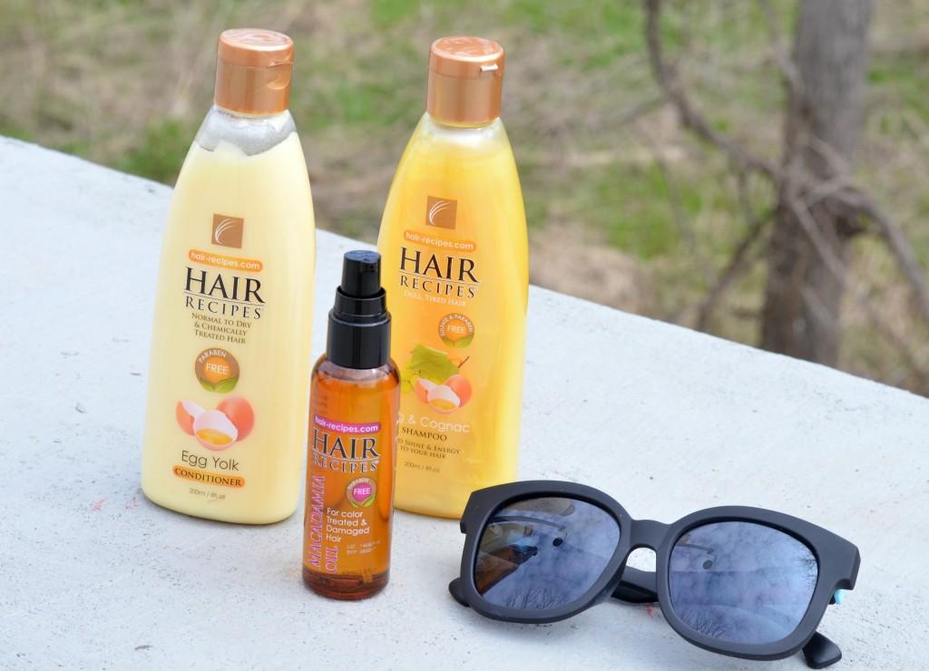 Hair Recipes Egg & Cognac Shampoo