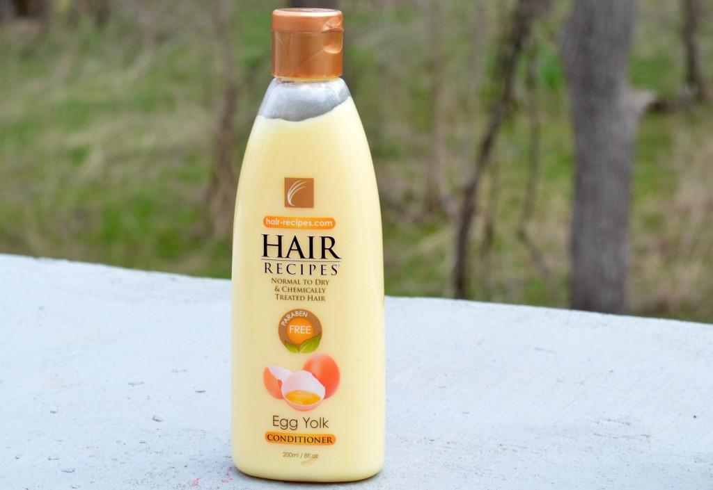 Hair Recipes Egg Yolk Conditioner
