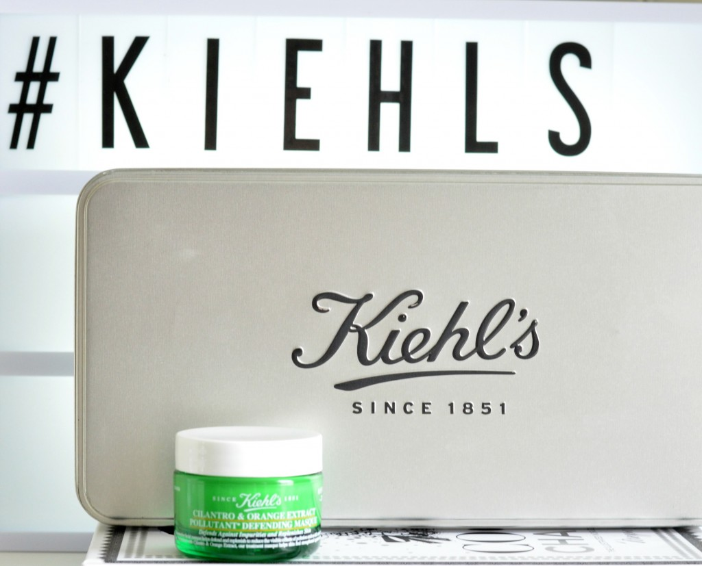 Kiehl's Cilantro & Orange Extract Polluant Defending Masque