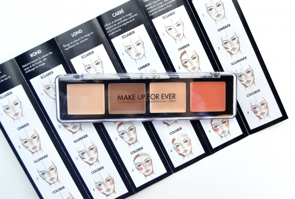 Make Up For Ever Pro Sculpting Face Palette