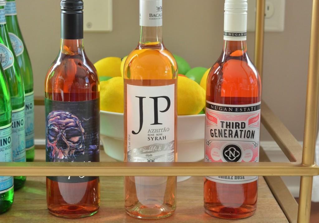rosés wine