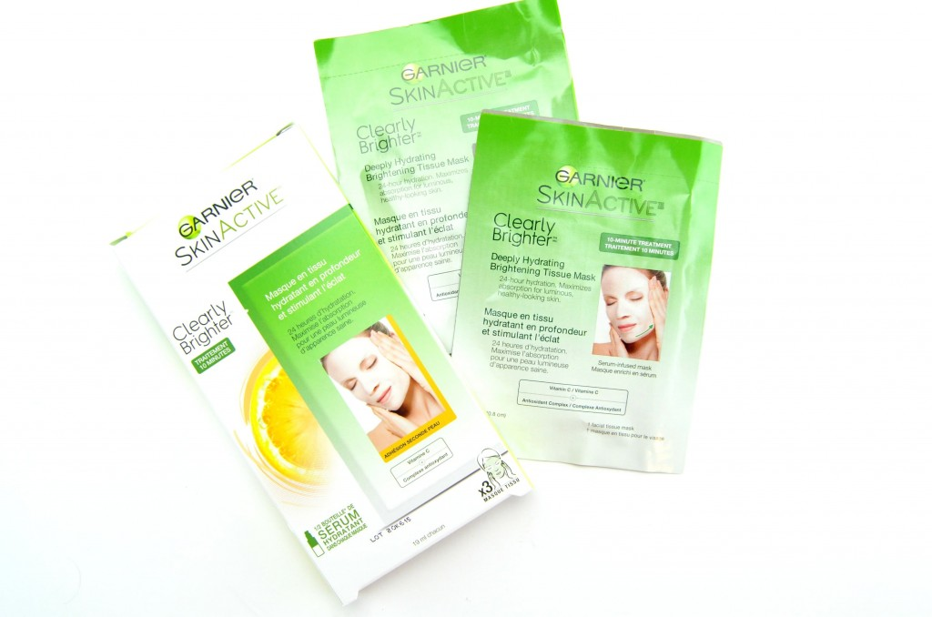 Garnier SkinActive Clearly Brighter Deeply Hydrating Brightening Tissue Mask