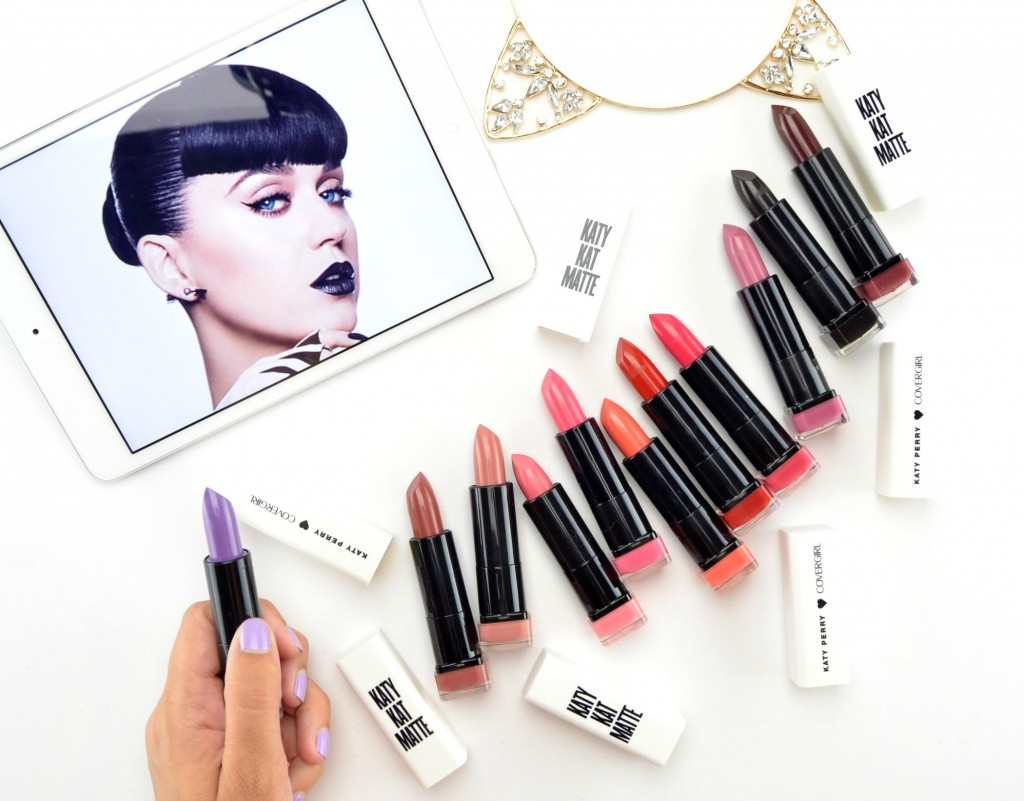 Katy Perry ❤ CoverGirl Matte Lipstick