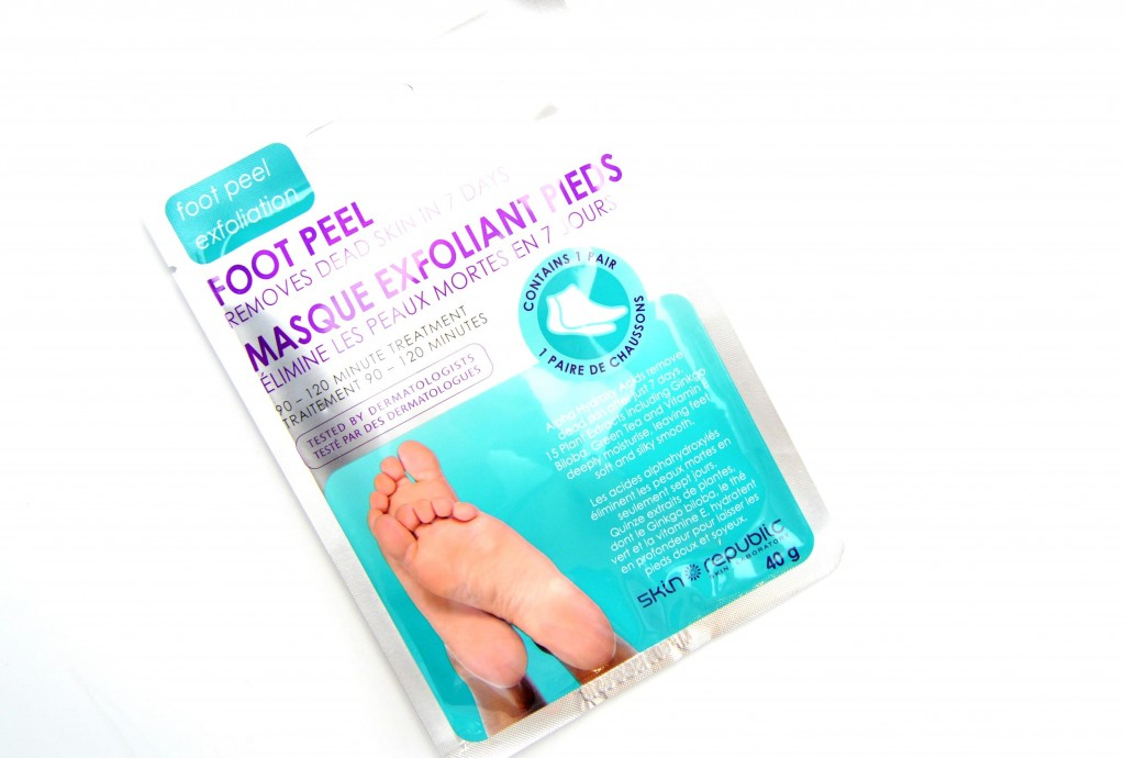 Skin Republic's Foot Peel Mask