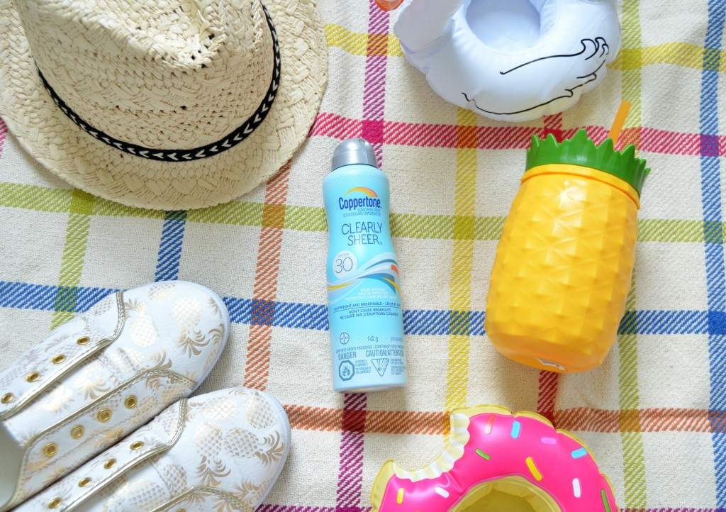 Coppertone ClearlySheer Sunscreen Spray SPF 30