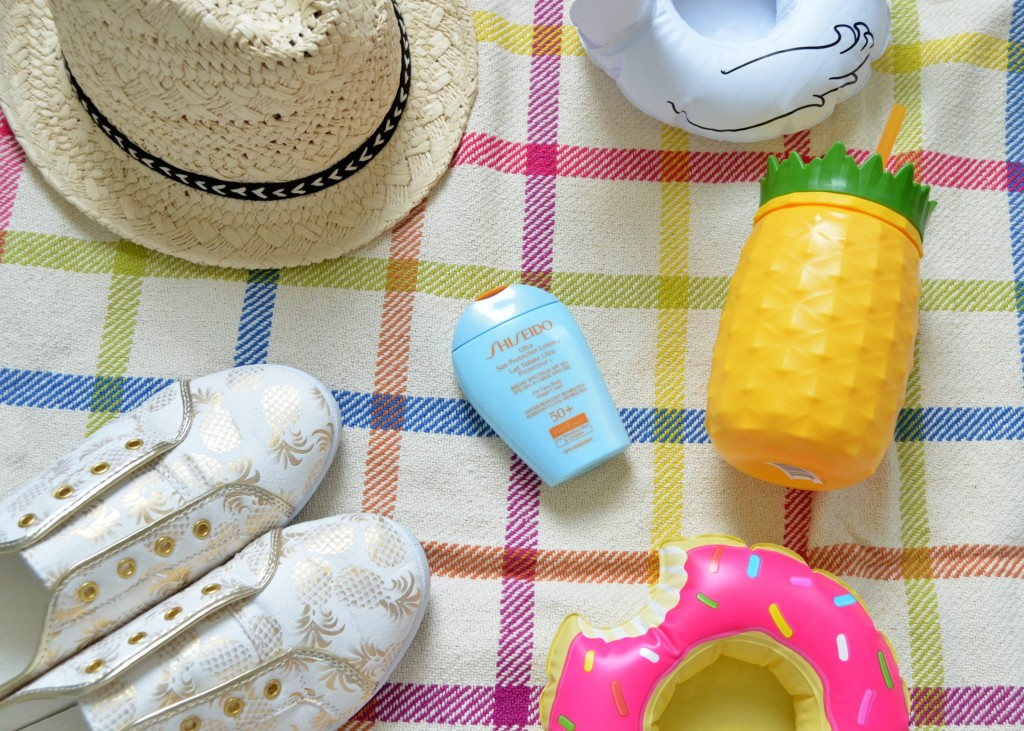 Shiseido Ultimate Sun Protection Lotion WetForce Broad Spectrum SPF 50