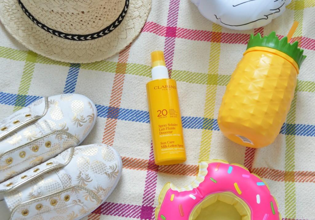 Clarins Sun Care Milk-Lotion Spray SPF 20