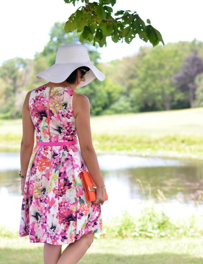 floral Eliza J Dress