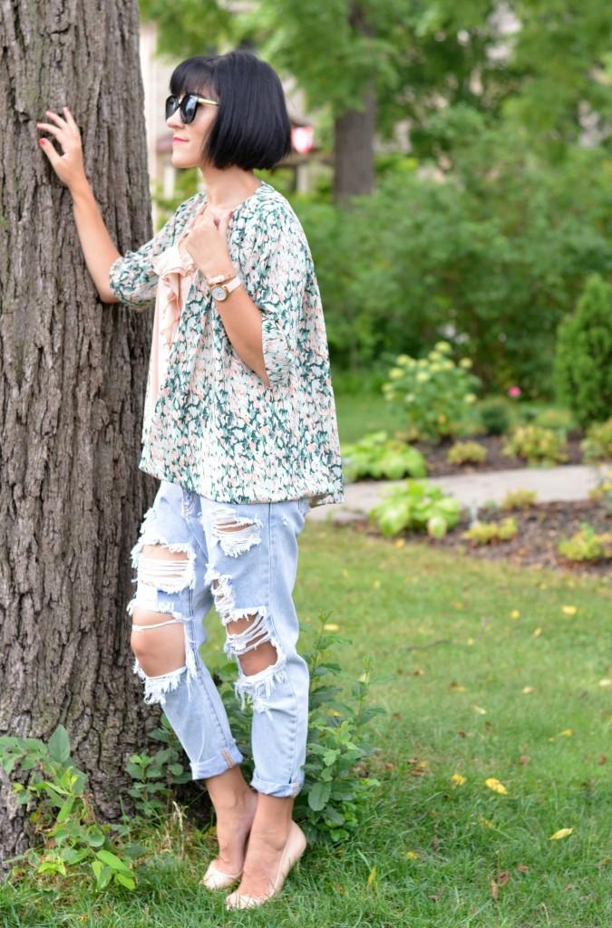 perfect boyfriend jeans
