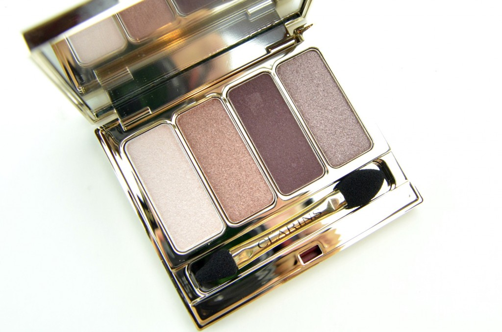 Clarins 4-Colour Eyeshadow Palette 02- Rosewood
