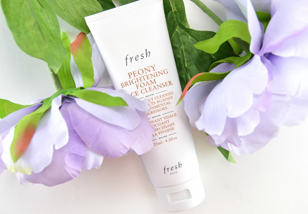 Fresh Peony Brightening Foam Face Cleanser