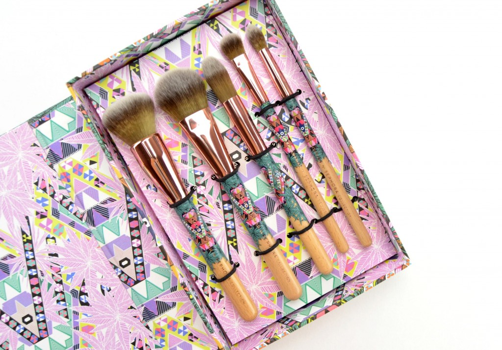 Sephora Mara Hoffman Charcoal Brush Set