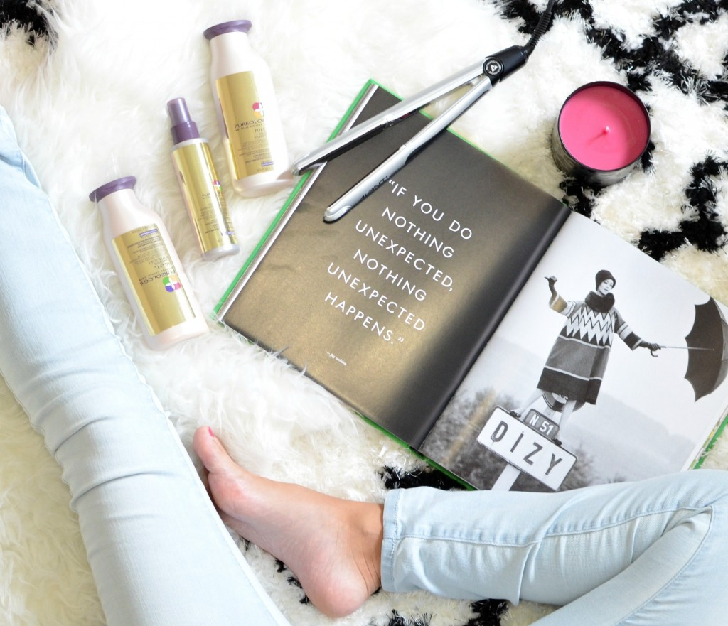 Denser, texturized hair with the new Pureology Fullfyl Collection