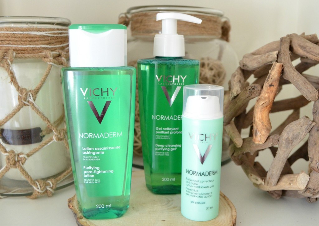 3 Steps to clearer skin with Vichy Normaderm
