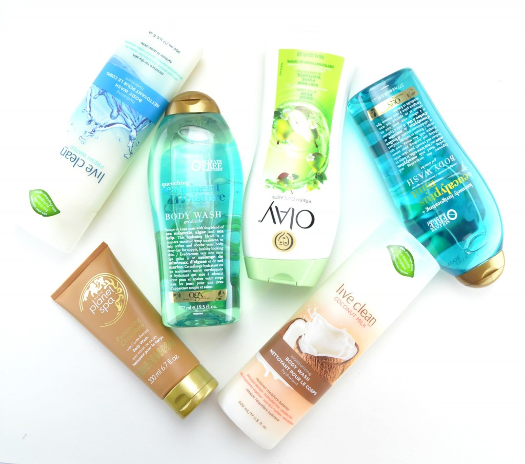 drugstore body washes