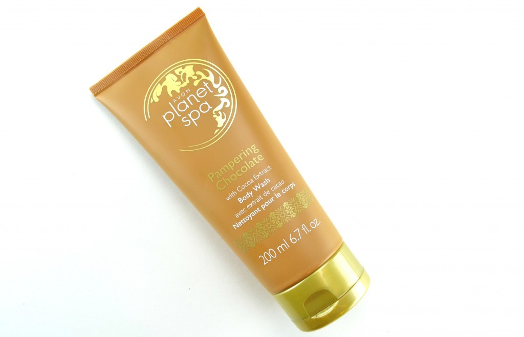 Avon Planet Spa Pampering Chocolate with Cocoa Extract Body Wash