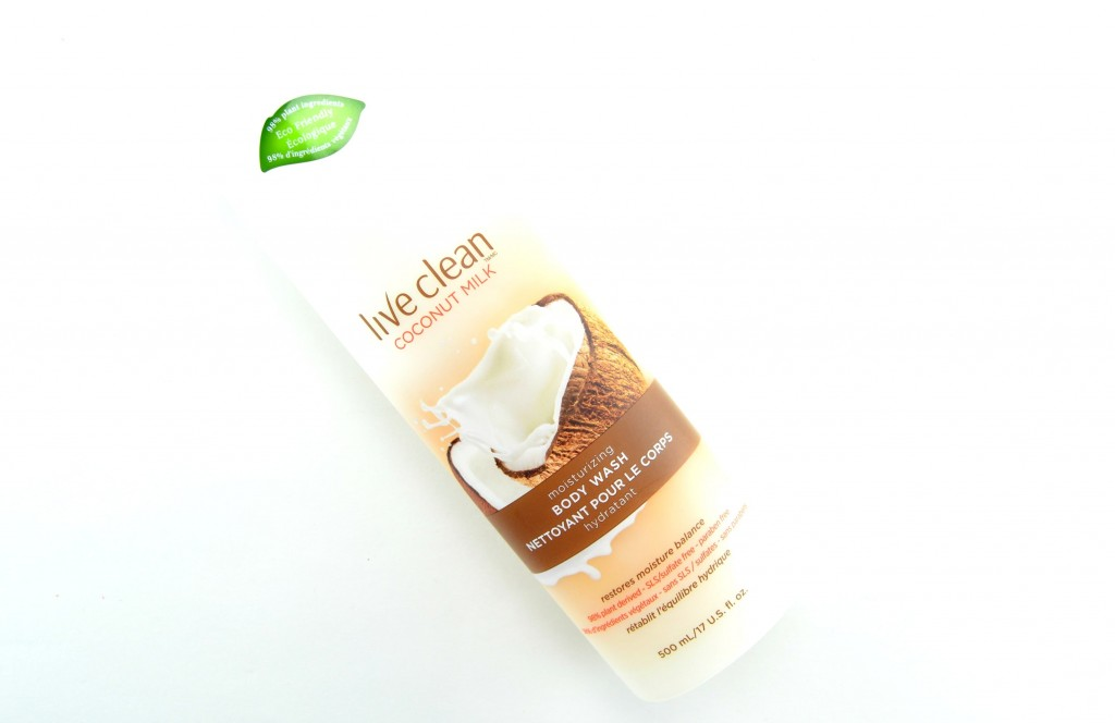 Live Clean Coconut Milk Moisturizing Body Wash