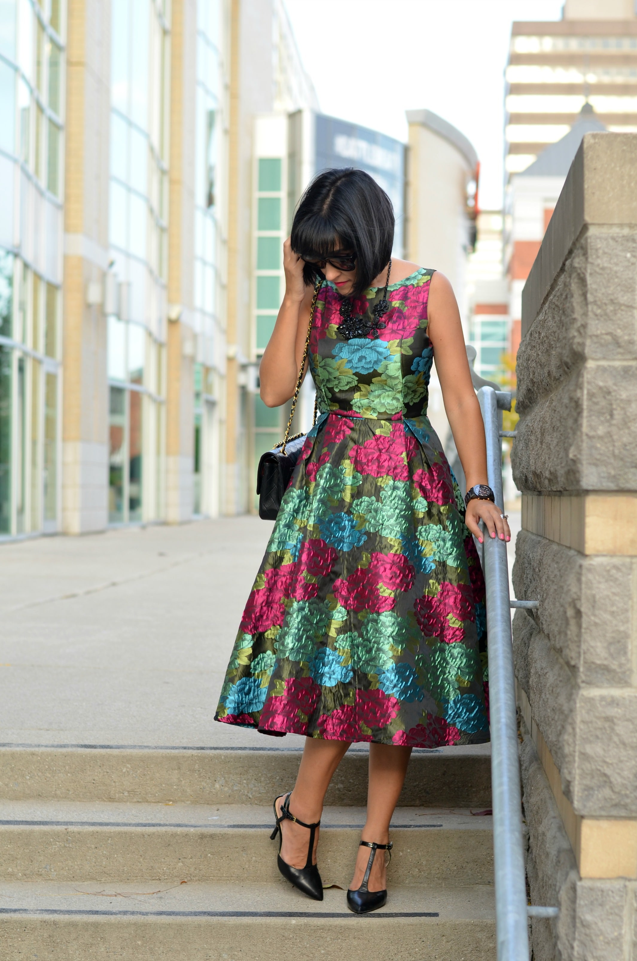 chic wish floral dress
