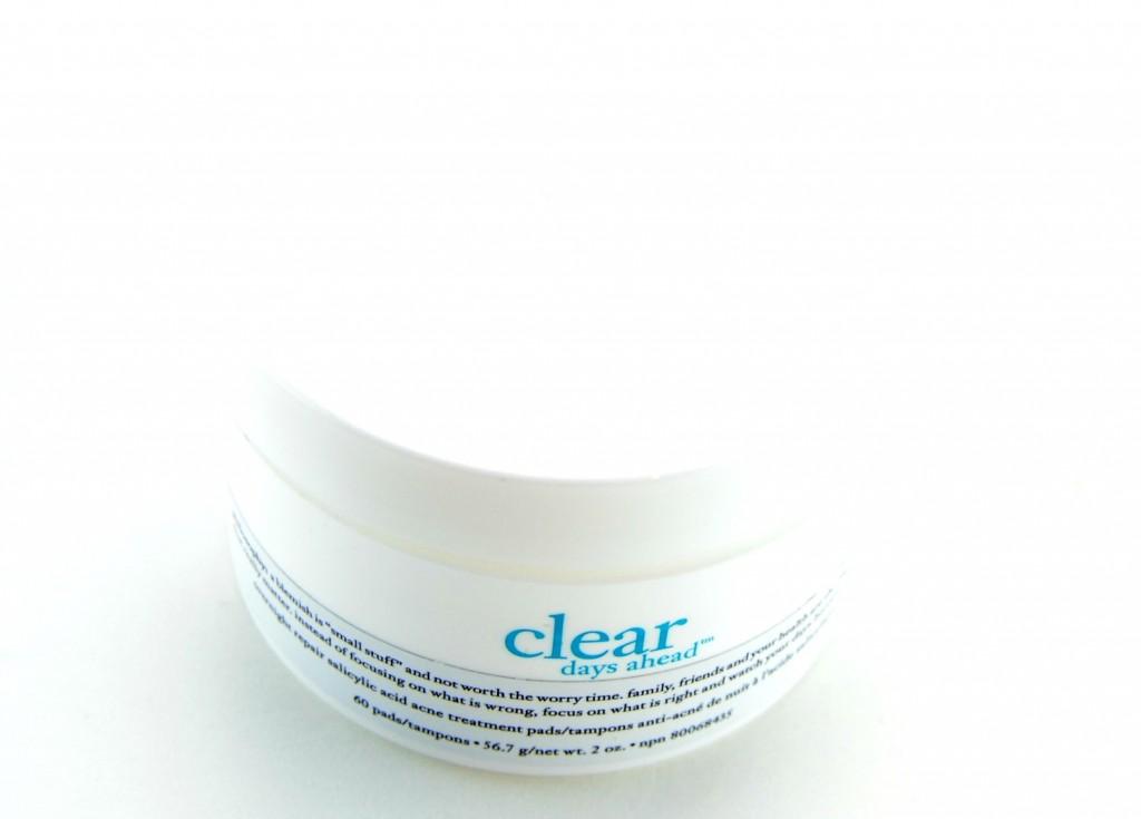 Philosophy Clear Days Ahead Overnight Repair Salicylic Acid Acne Treatment Pads