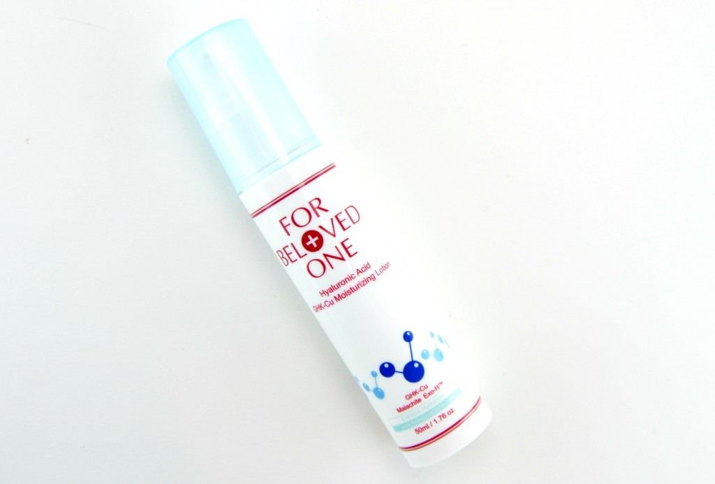 For Beloved One Hyaluronic Acid GHK-Cu Moisturizing Lotion