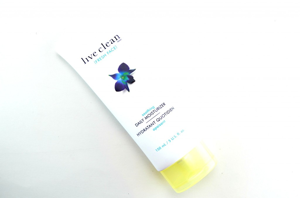Live Clean Fresh Face Soothing Daily Moisturizer