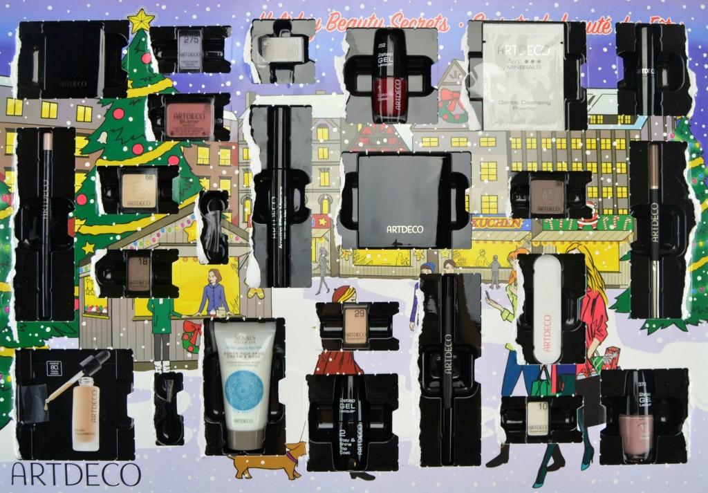 Art Advent Calendar : Artdeco advent calendar canadian fashionista