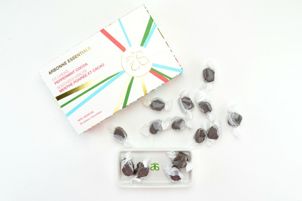 Arbonne Peppermint Cocoa Fit Chews