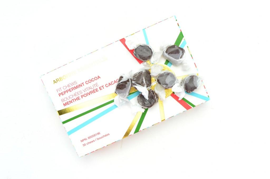 Arbonne Peppermint Cocoa Fit Chews
