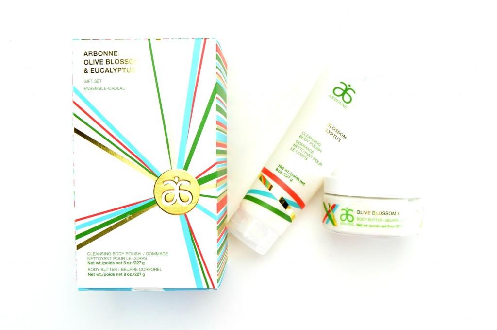 Arbonne Olive Blossom & Eucalyptus Gift Set