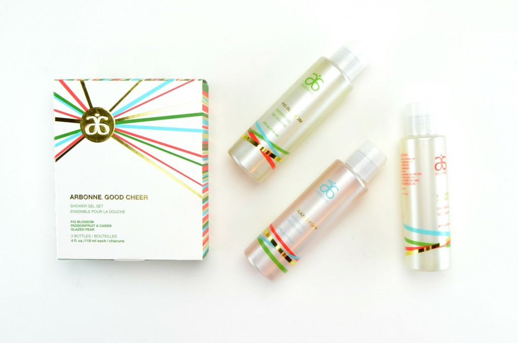 Arbonne Good Cheer Shower Gel Set