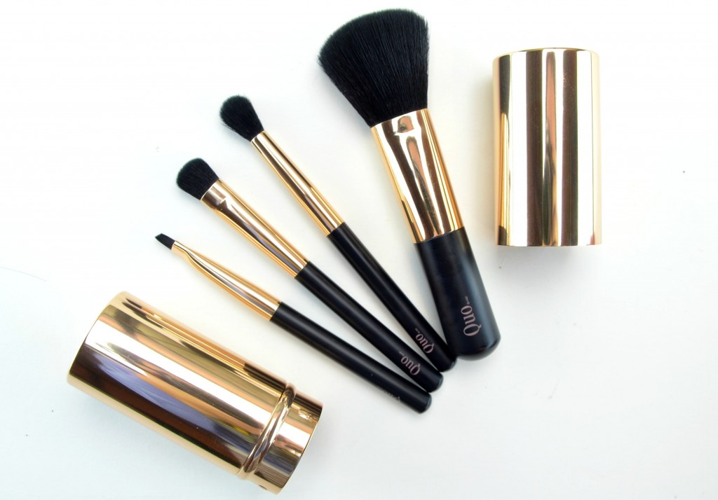 Quo Cosmetics Ready-Set-Travel Brush Set