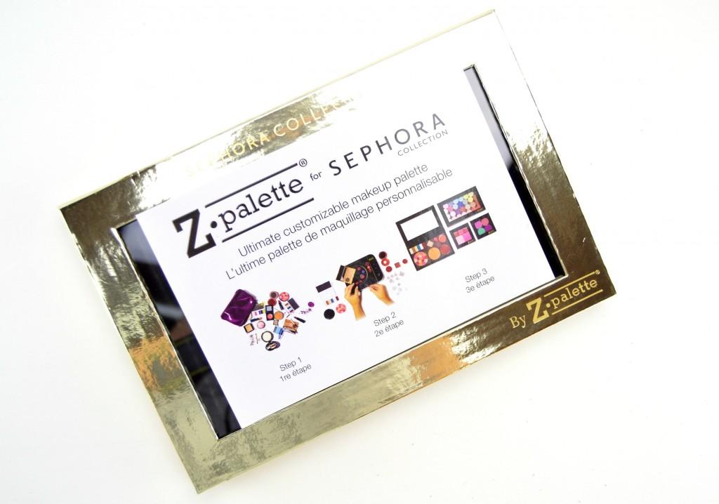 Sephora Collection Sparkle & Shine Z Palette