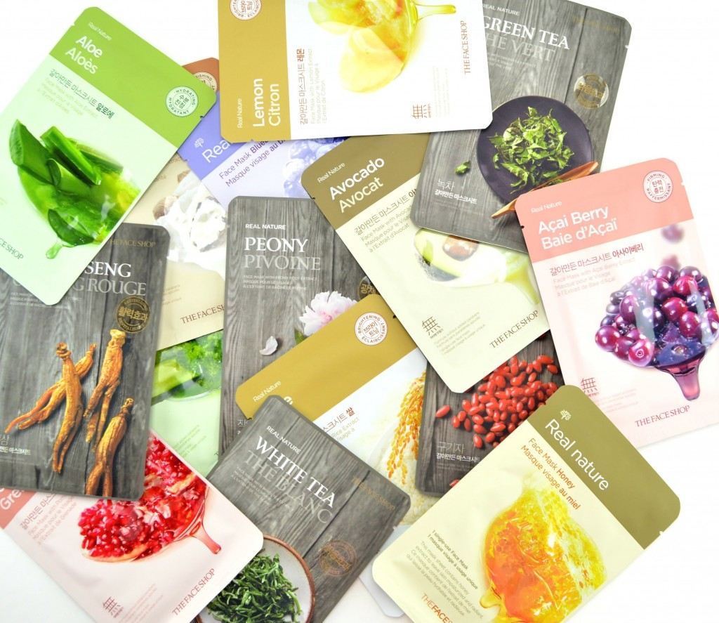 The Face Shop Holiday Mask Set