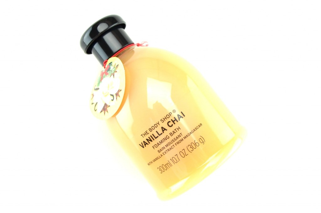 The Body Shop Foaming Bath Vanilla Chai