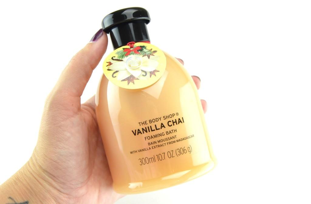 The Body Shop Foaming Bath Vanilla Chai