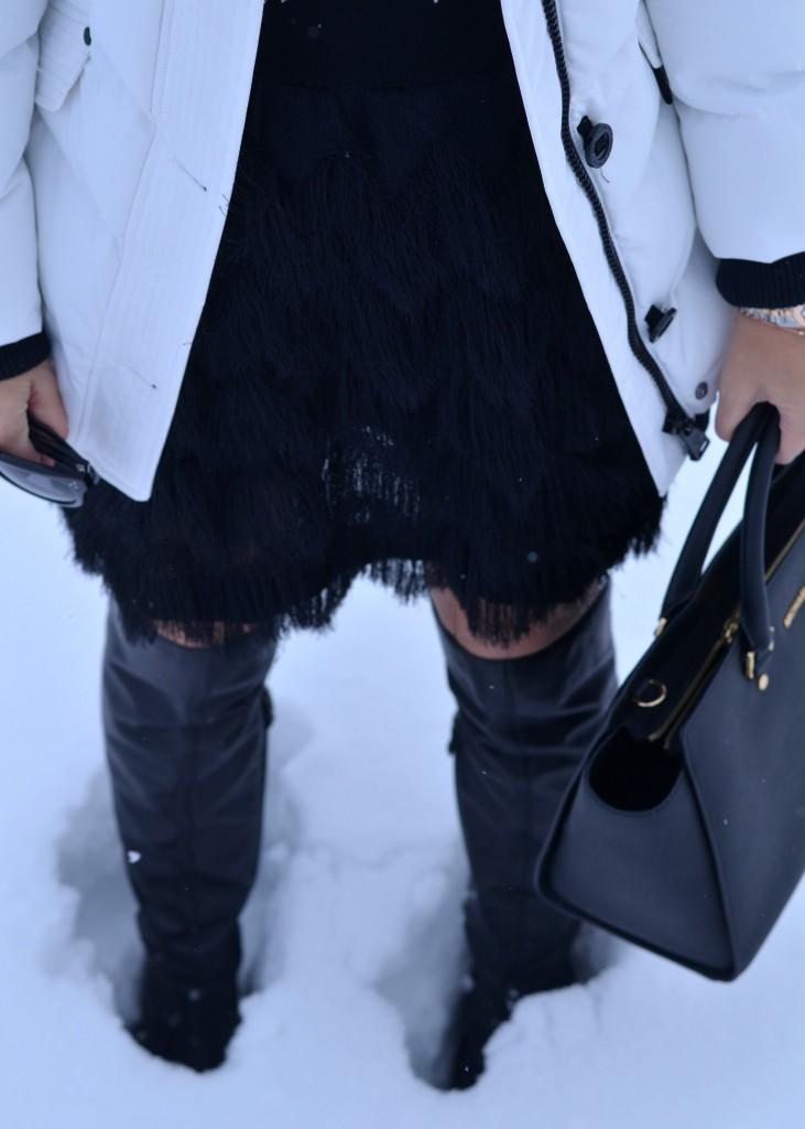 nozie white coat