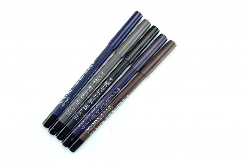 Marcelle Velvet Gel Waterproof Eyeliners