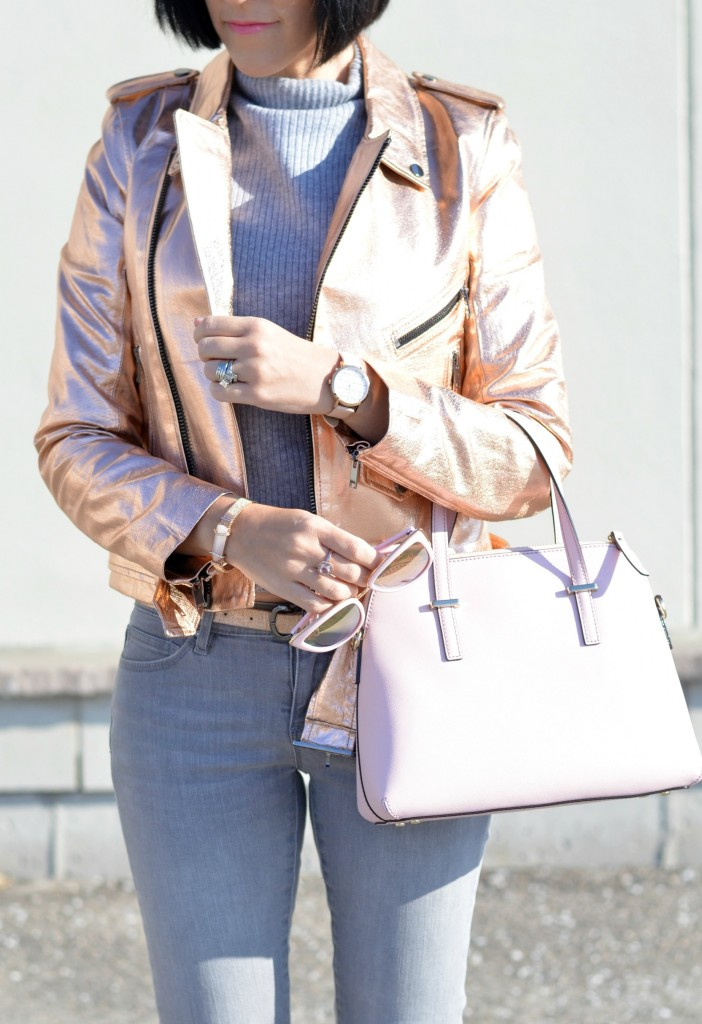 rose gold bomber, fashion blog, womens clothes, fashionable, street fashion, canadian fashion bloggers