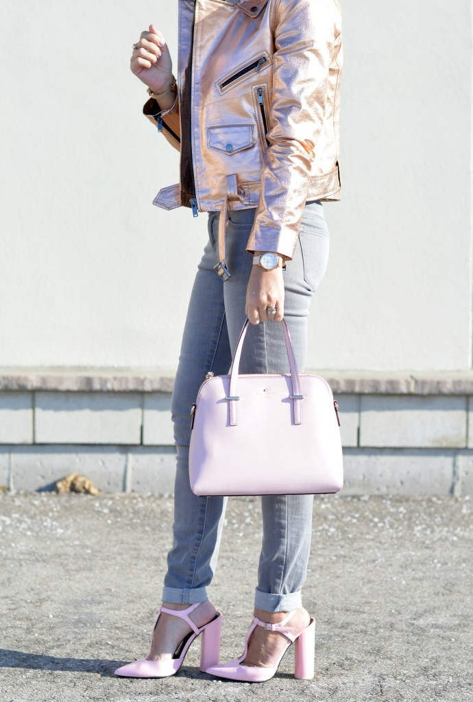 rose gold bomber, fashion bloggers, best fashion blogs, top fashion blogs, online shopping, canadian brands