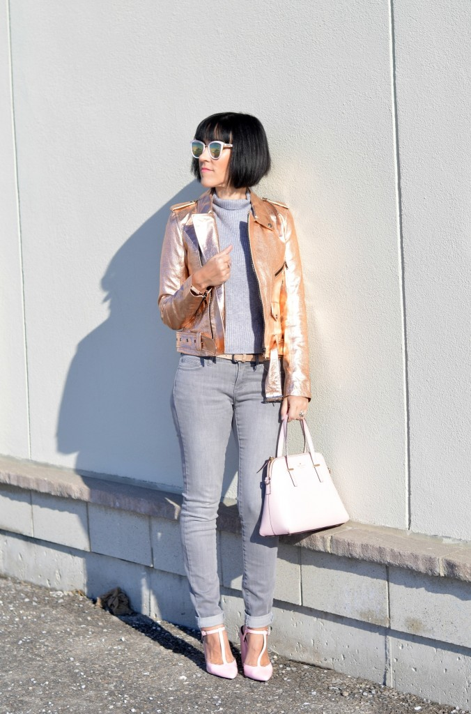 rose gold bomber, magazines Canada, canadian clothing brands, latest fashion, latest fashion trends, fashion 2016