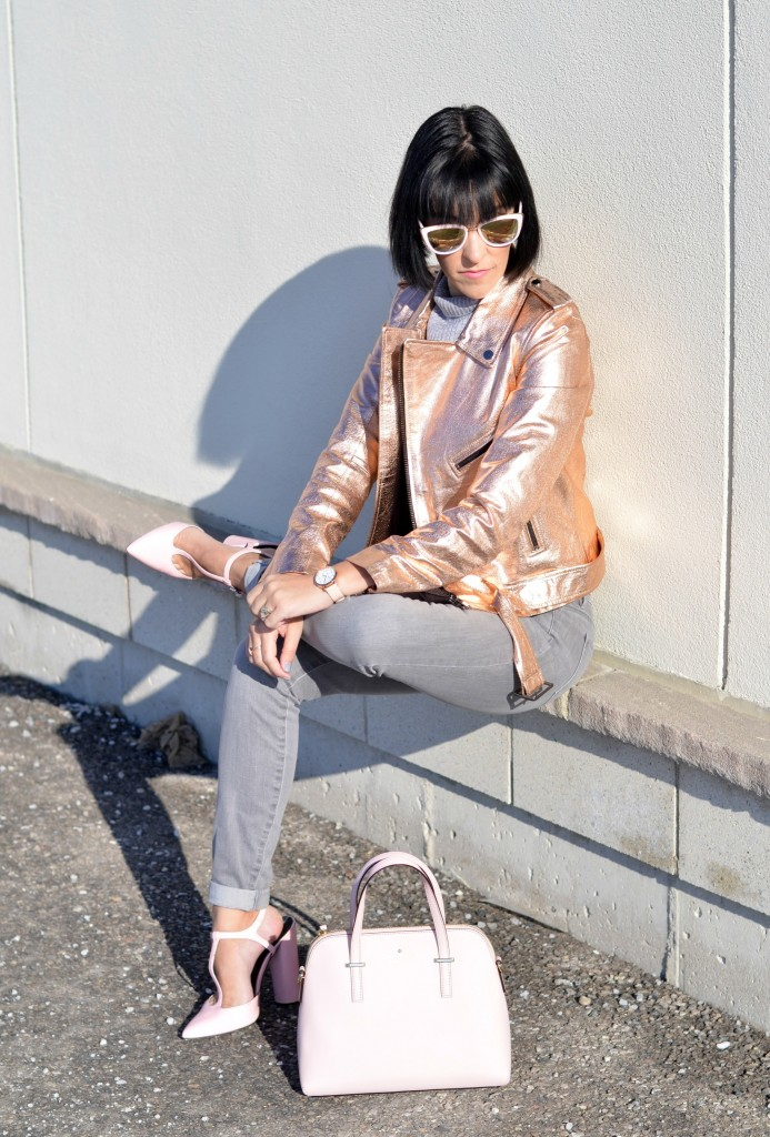 rose gold bomber, pink shoes, shoe stores , zara, zara shoes