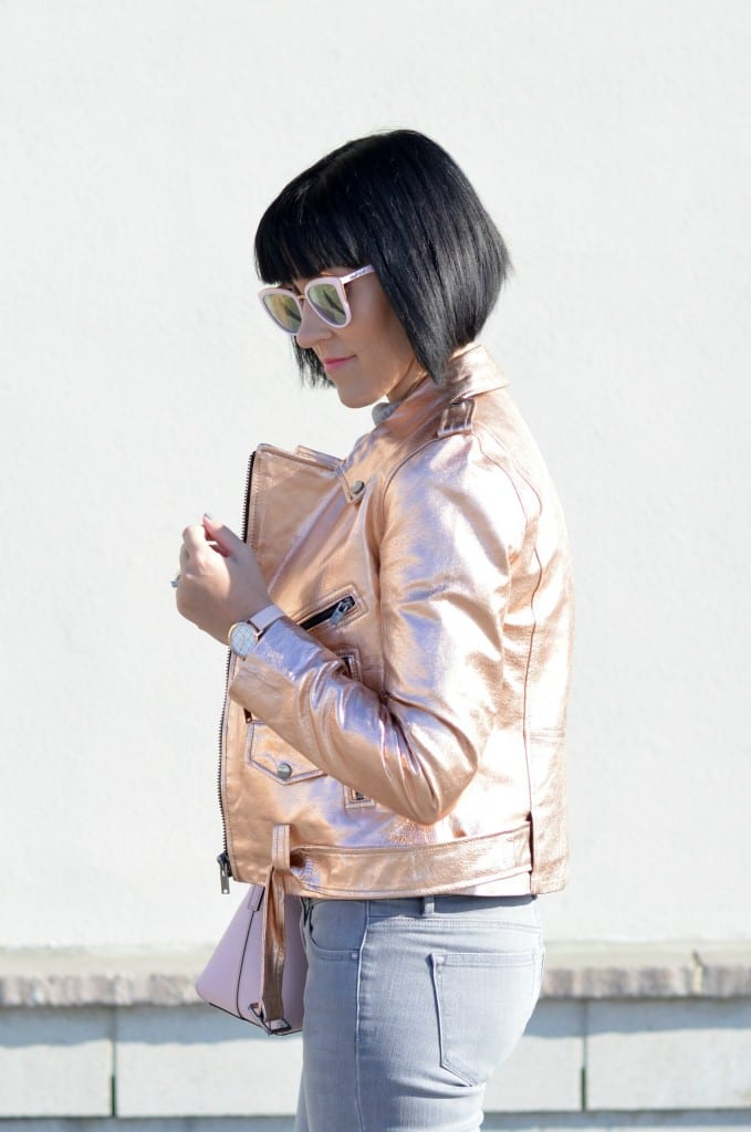 rose gold bomber, street style blog, fashion blogs Canada, how to start a fashion blog, hello fashion blog, best fashion blogs